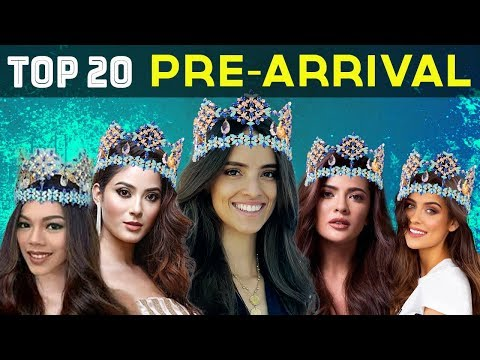 MISS WORLD 2018: TOP 20 PRE-ARRIVAL CONTESTANTS (NOVEMBER)