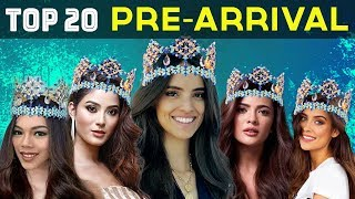MISS WORLD 2018: TOP 20 PRE-ARRIVAL CONTESTANTS (NOVEMBER).mp3