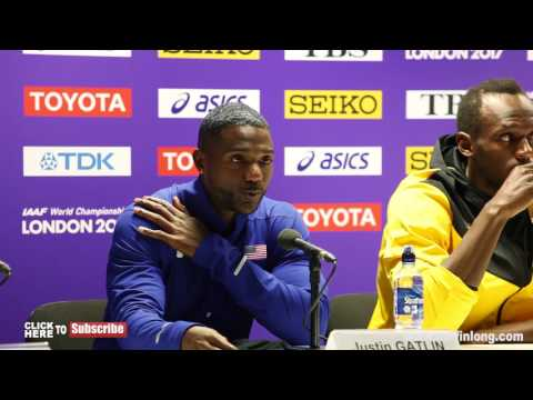 USAIN BOLT SHUTS DOWN A REPORTER WHO ASKS ABOUT DRUGS IN 100