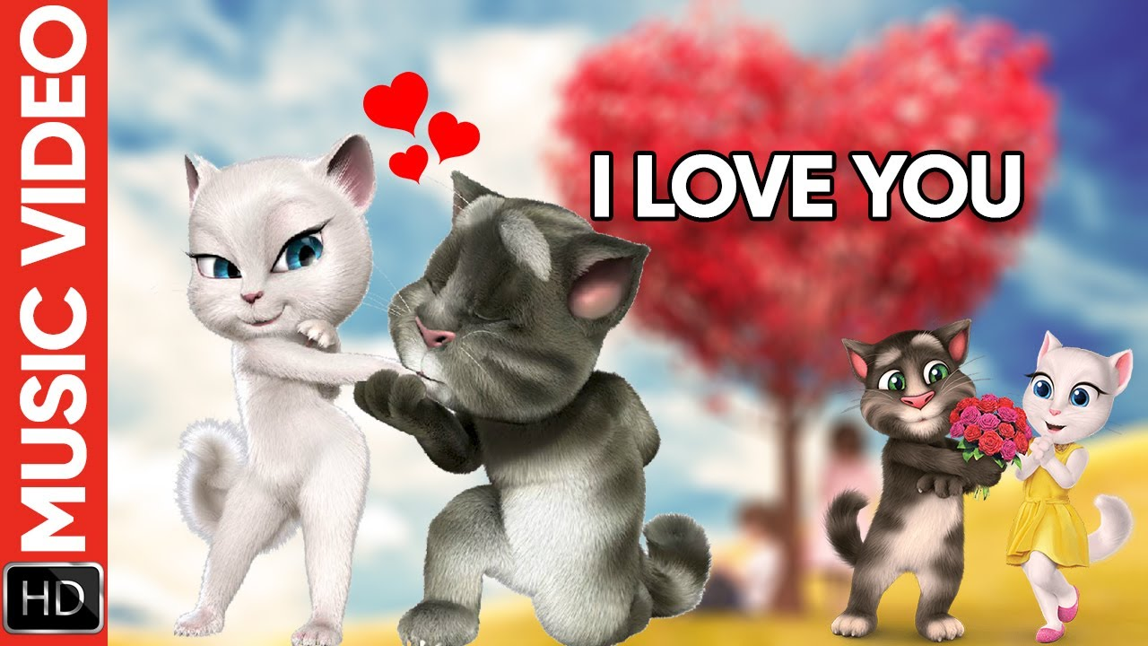 I Love You - We Love You ft. Talking Tom and Angela | New Music Video
