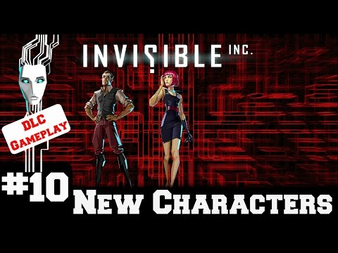 Invisible Inc - Contingency Plan New Characters - Gameplay/Walkthrough - Part 10
