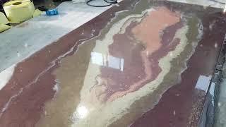 이지프 안료로 예쁜 테이블 만들기mp4