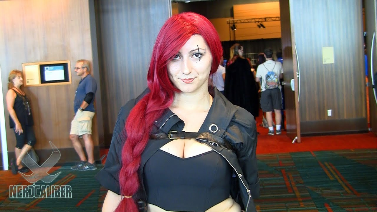 katarina league of legends cosplay at connecticon 2013
