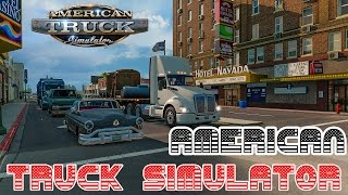 American Truck Simulator - #1 ► Starting Elko, Nevada [G29 + H-Shifter]