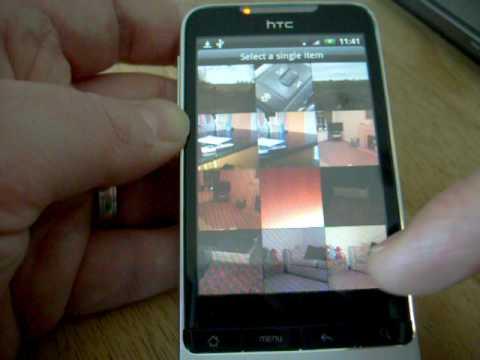 HTC Sense on the HTC Legend - Up close