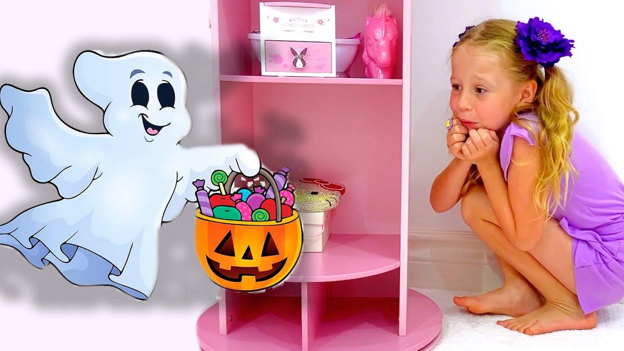 Download Nastya and mysterious adventures on Halloween
