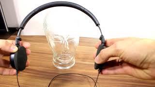 AKG Y30 headphones SPL dB test + quick review