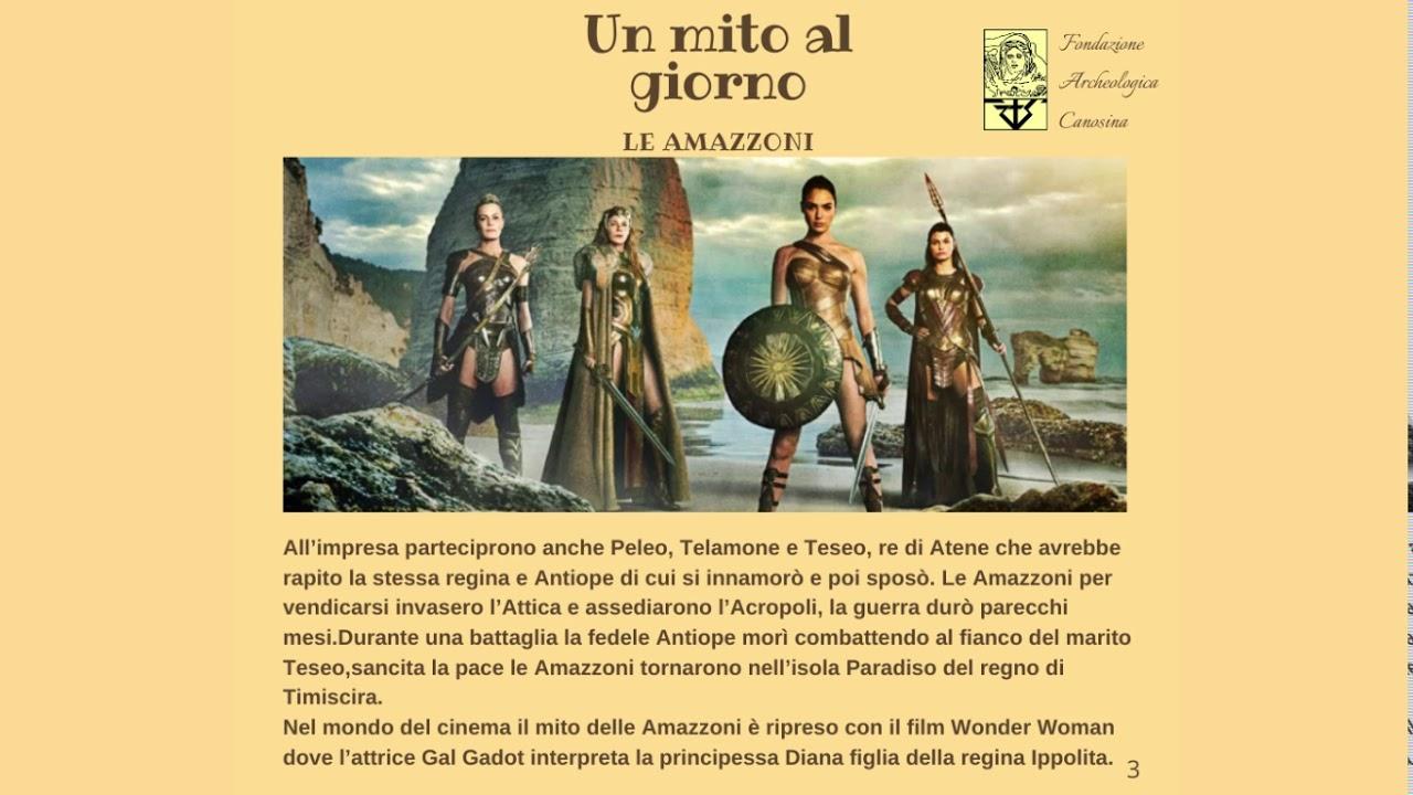 Download #unmitoalgiorno - Le Amazzoni