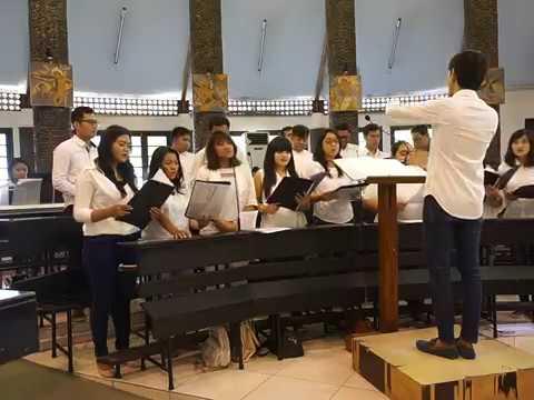Jadikan Hatiku Istana Cinta-Mu (Putut Pudyantoro) - SATB - Fiat Lux Choir (OMK St. Paulus, Juanda)