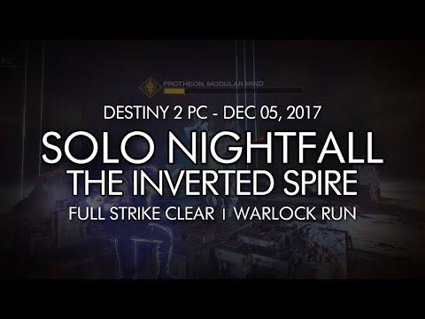 Destiny 2 - Solo Nightfall: The Inverted Spire (Warlock - Week 14)