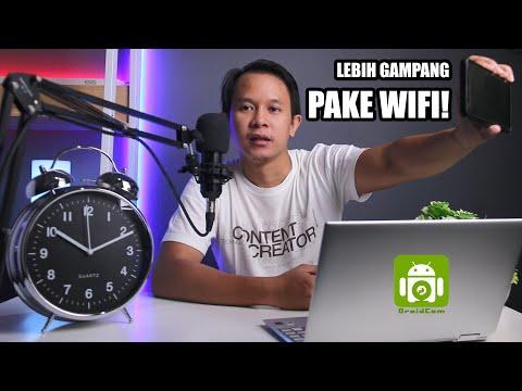 Cara Menghubungkan Aplikasi Droidcam Pake Wifi! - Alternatif Kabel USB