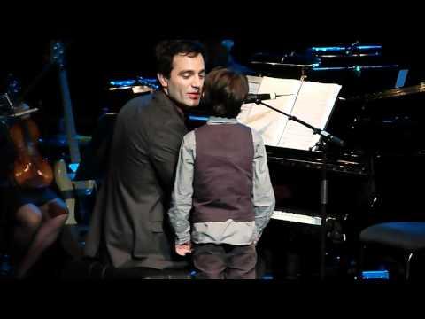 Ramin Karimloo & his son Jaiden Live at Royal Festival Hall 01.05.12 HD