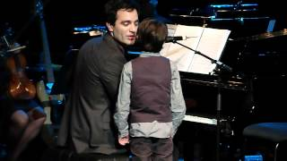 Ramin Karimloo & his son Jaiden Live at Royal Festival Hall 01.05.12 HD