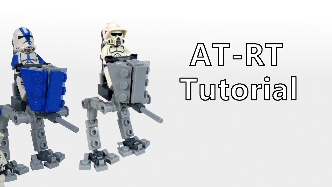 how to build lego star wars at-rt (clone wars) | moc