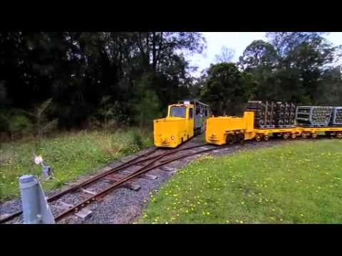 Riding the Rails at Sydney Olympic Park