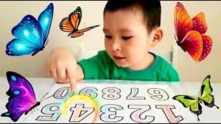 Учим цвета и цифры Обучающие видео для детей. Learning colors and numbers. Video for kids