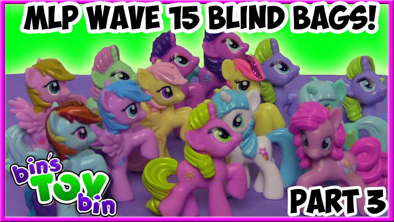 My Little Pony Blind Bags Wave 15 Full Case Opening Pt 3