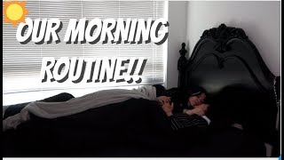 OUR MORNING ROUTINE!!! (COUPLE EDITION) LGBT