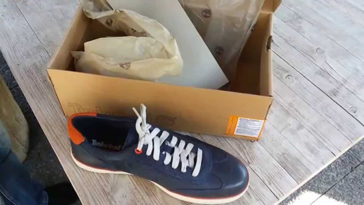 TIMBERLAND Earthkeepers 5024A Hudston Navy - YouTube 312b6c39e20