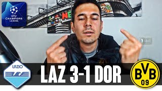 ECCO COME IMMOBILE RISPONDE ALLE CRITICHE! CHE GODURIA! | Lazio-Borussia Dortmund 3-1