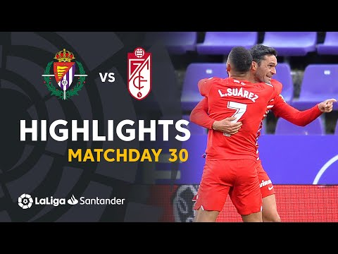 Valladolid Granada Goals And Highlights