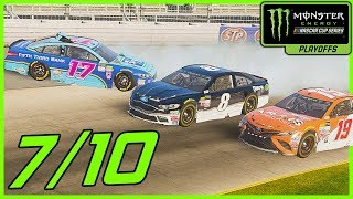 I MISSED RELAXED YELLOWS - NASCAR Heat 2 Career Mode  Playoff Race 7/10 