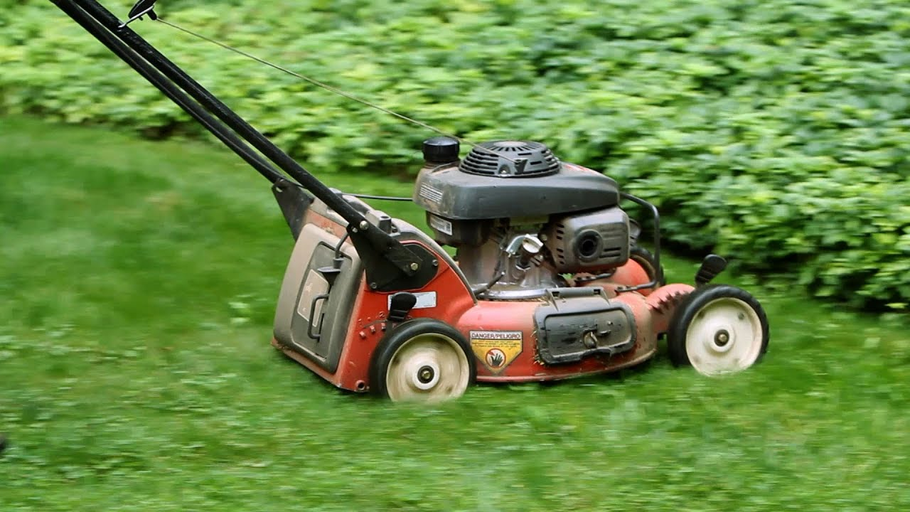 mow lawn properly