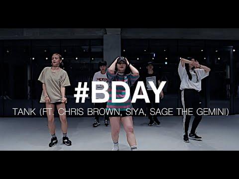 #BDAY - TANK(FEAT. CHRIS BROWN, SIYA, SAGE THE GEMINI ) / MINKY JUNG CHOREOGRAPHY