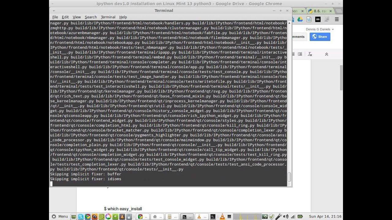 install jupyter notebook ubuntu 14.04