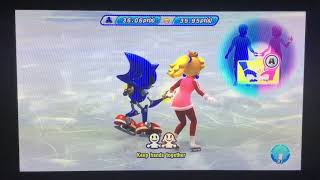 Mario & Sonic at the Sochi 2014 Olympic Winter Games Figure Skating Pairs 253