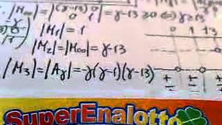 vincere sempre al superenalotto calcolo matematico