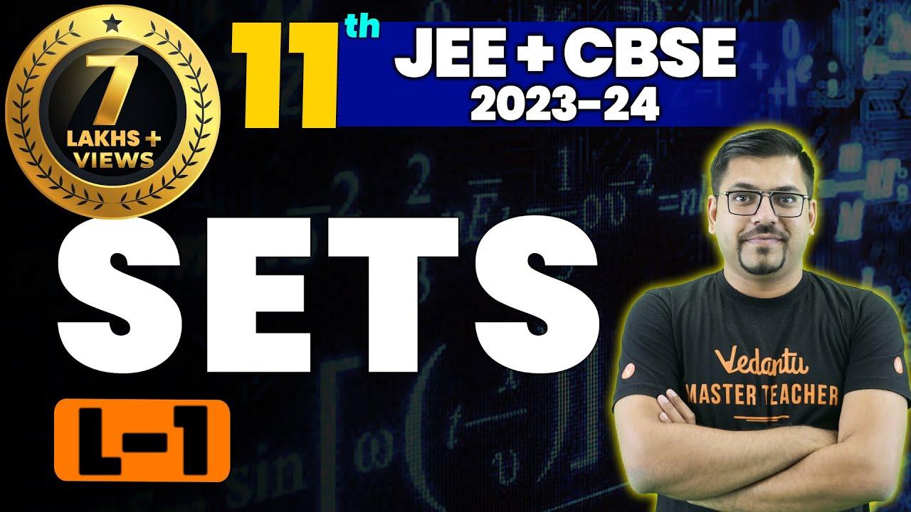 Download Sets L-1 | Class 11 Maths | JEE+CBSE | Harsh Priyam Sir | Umang-XI | Vedantu Math
