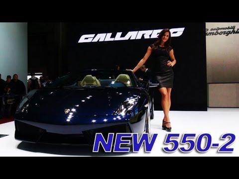 New Lamborghini Gallardo LP 550-2 Spyder - 2012 Paris Motor Show