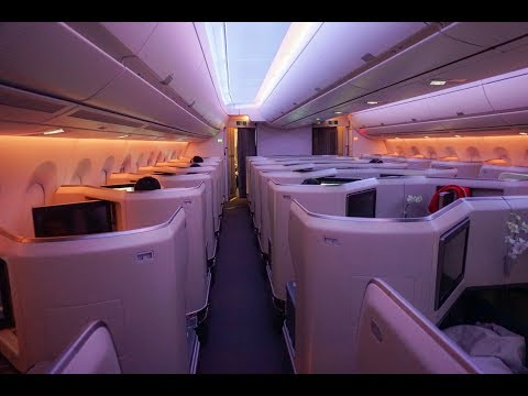 Cathay Pacific A350 BUSINESS CLASS | 15 Hours from Newark to