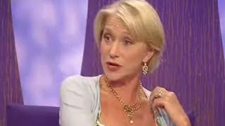 Dame Helen Mirren interview - Parkinson - BBC