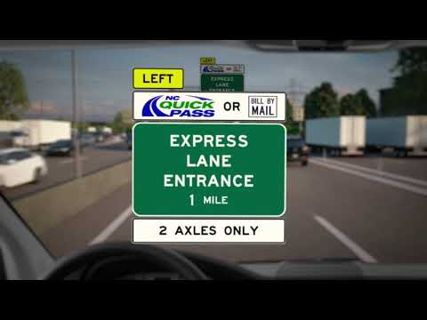 DZL - I77 Express is opening portion of toll lanes 6/1. Rates & virtual ride here