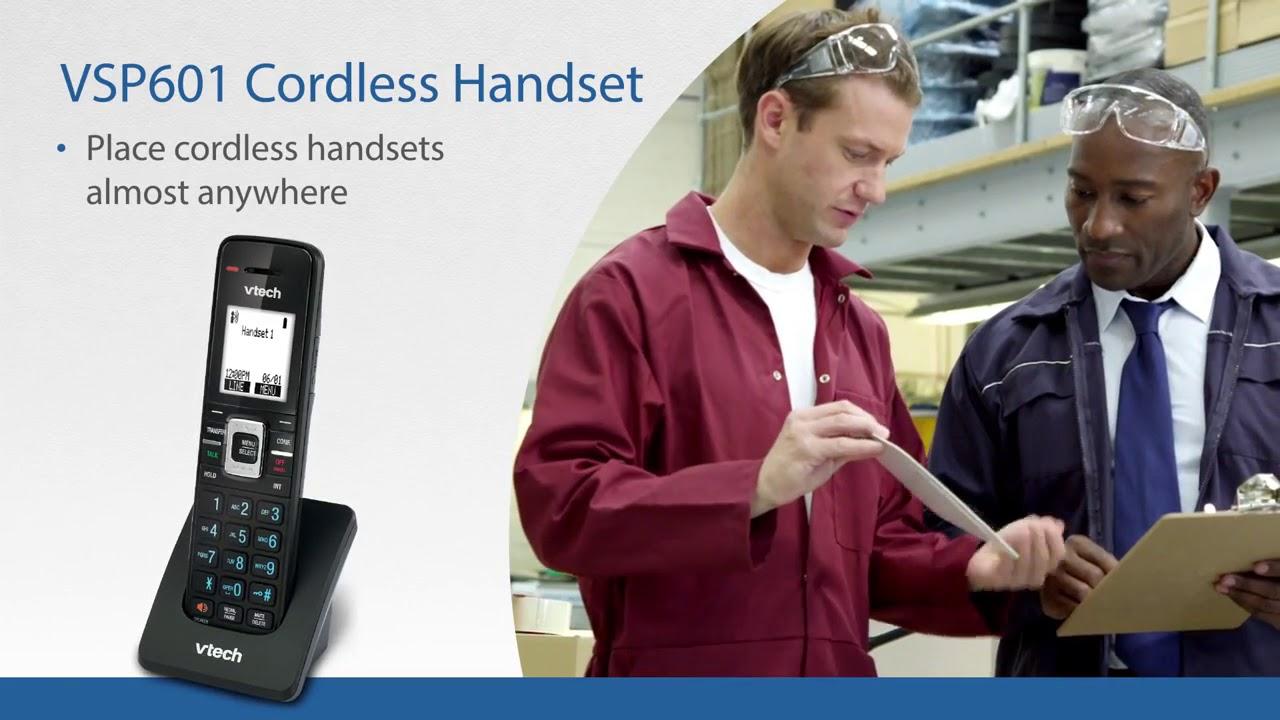 Eristerminal Sip Dect Base Station And Cordless Handset Vtech Business Phones