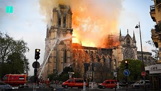 #NotreDame Cathedral Catches Fire