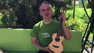 Unboxing of Flight's Victoria Tenor CEQ ukulele