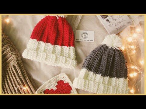 [Crochet Hat] Hướng Dẫn Móc Mũ Len Couple Siêu Cute