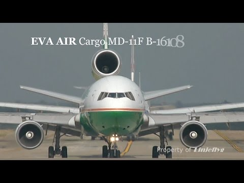 EVA AIR Cargo MD-11F B-16108@TPE