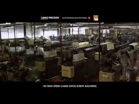 Lemco Précision : décolletage de contacts de précision Suisse