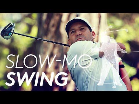 Sergio Garcia's golf swing in Slow Motion