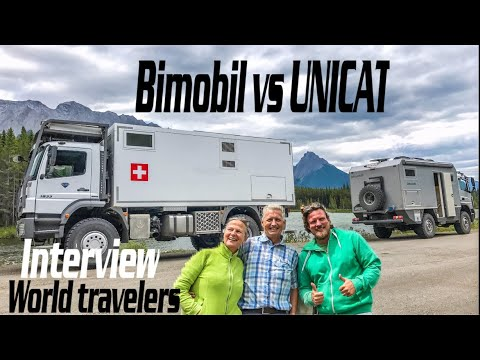 BiMobil vs UNICAT  ► |  Overland Couple Travel Pan American Highway with Expedition Vehicle