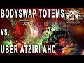 Path of Exile 3.1 - Bodyswap Totems vs. Uber Atziri in Abyss HC (Chieftain)