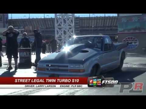 QUICKEST & FASTEST STREET CAR IN THE WORLD! Larry Larson runs 5.95 @ 244MPH