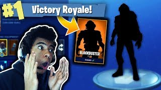 I UNLOCKED THE SECRET FORTNITE BLOCKBUSTER SKIN! FORTNITE WEEK 7 CHALLENGES - Fortnite Battle Royale