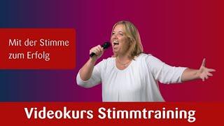 Stimmtraining Videokurs Mit der Stimme zum Erfolg