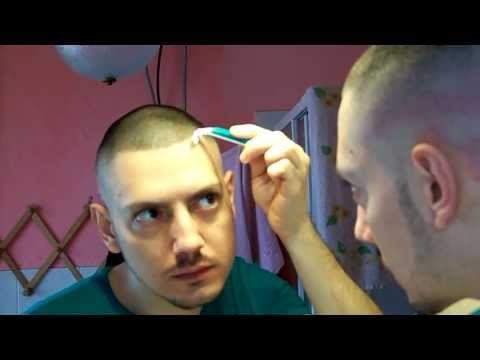 high & tight with hair tattoo