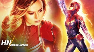 New Captain Marvel Posters Revealed As Tickets Go On Sale